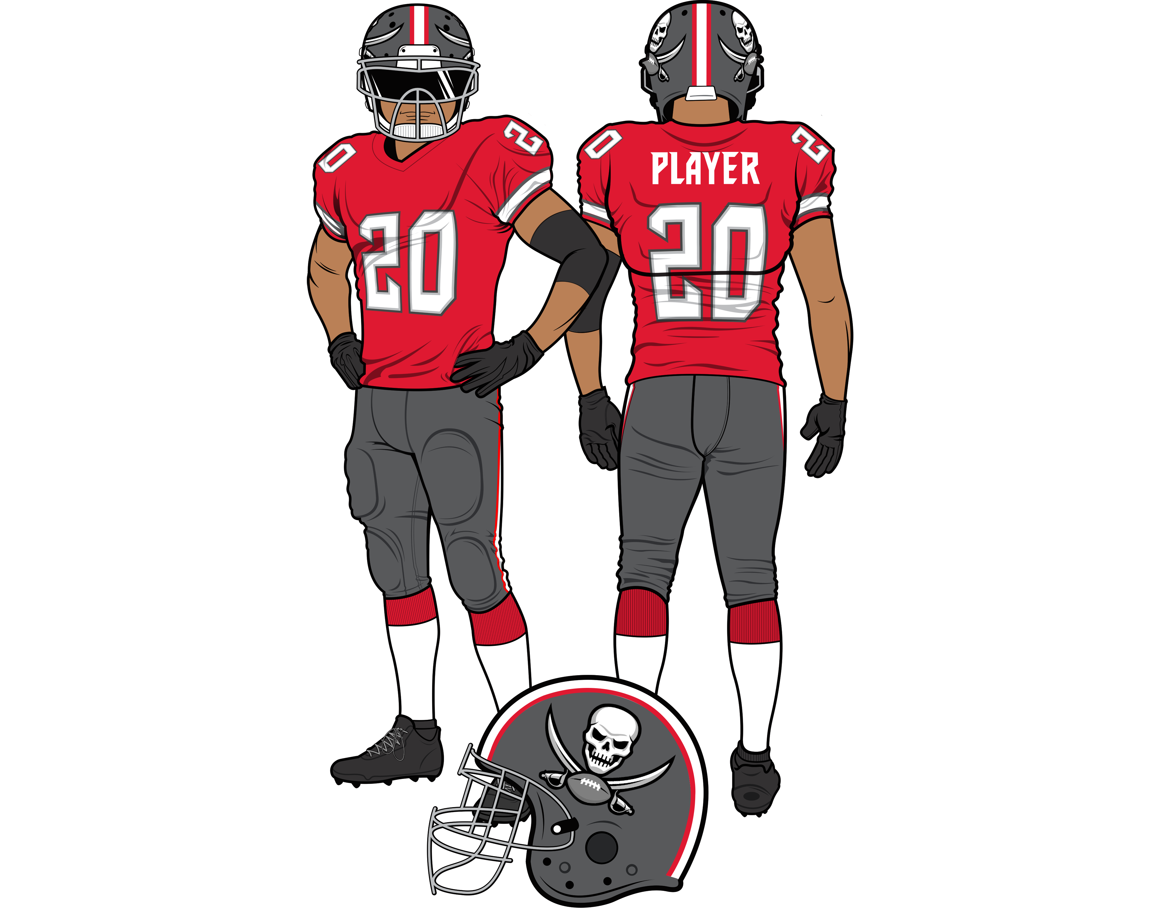We Fixed The Buccaneers Uniforms And Now The World Is A Better Place