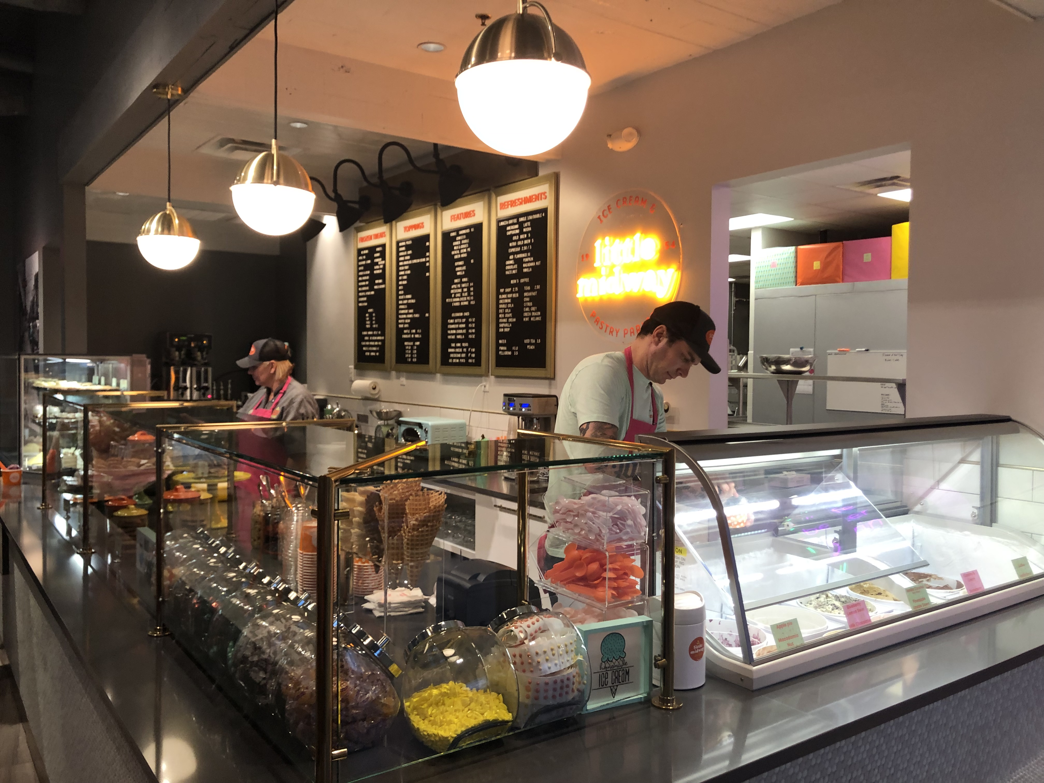 Bern's owner opens Little Midway ice cream and pastry shop
