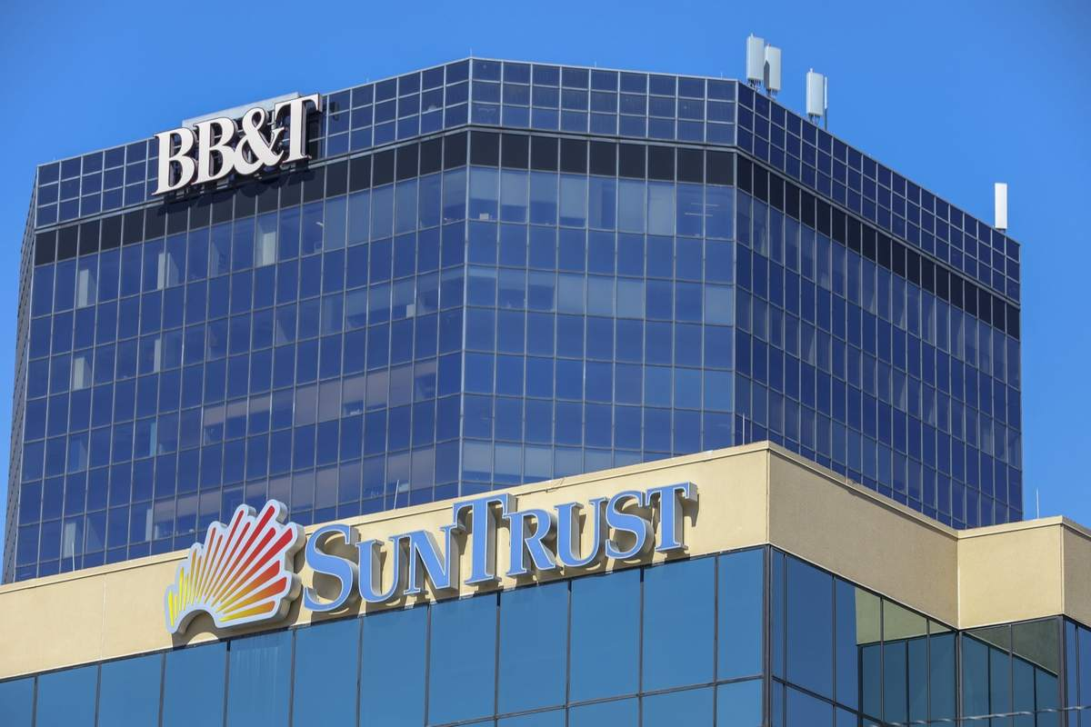 SunTrust and BB&T have substantial footprints in Florida and