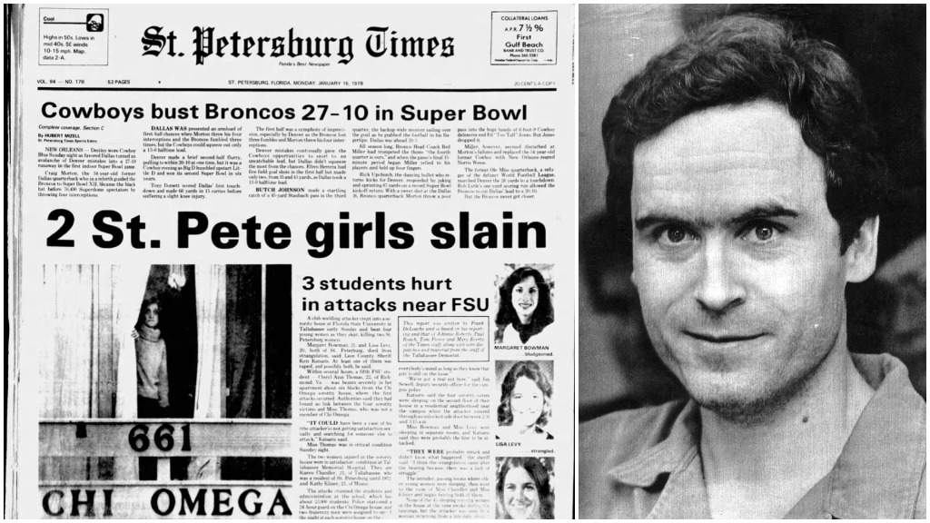 Ted Bundy was executed 30 years ago this year  Three of his