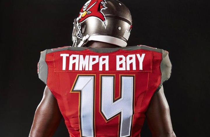 100% authentic a79f4 f0816 Bucs uniforms rank among NFL's worst