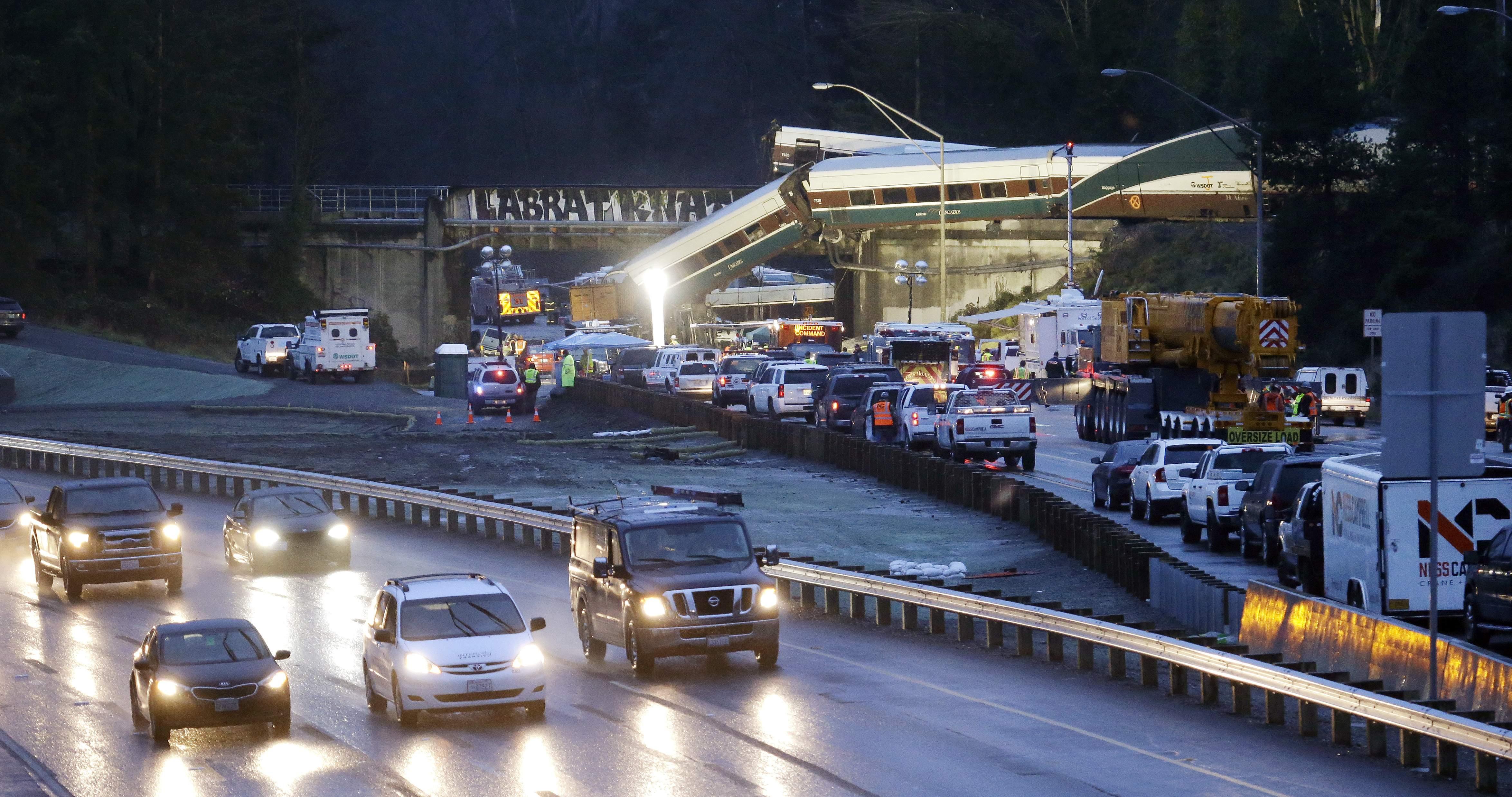 Train speeding 80 mph in 30 mph zone before deadly Tacoma