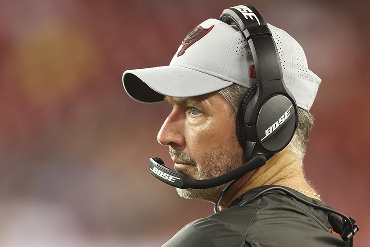Dirk Koetter is entering his third season as Bucs head coach. He has won 14 games and lost 18. [MONICA HERNDON | Times]