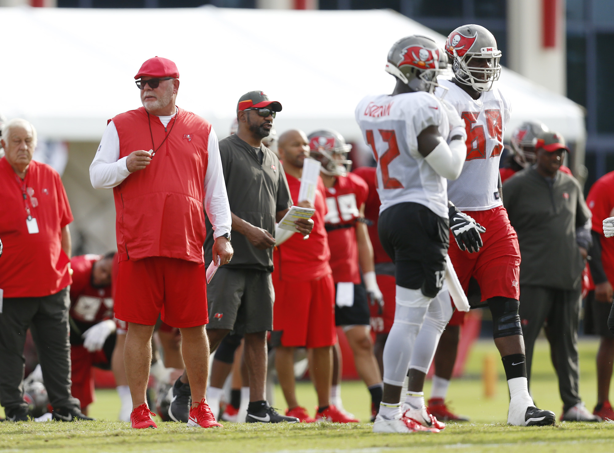check out 0f77f f4ba2 Bucs' Bruce Arians: 'It would be easy to cut down to 60 ...